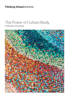 The power of culture whitepaper front cover
