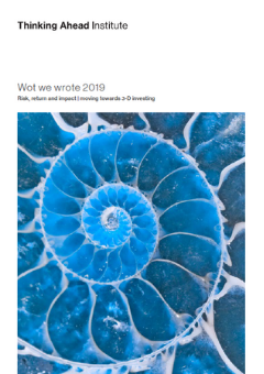 Wot we wrote 2019